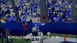 Two Minute Warning Fireworks!  | Buffalo Bills Franchise ep 35| Madden 21 (PS4)