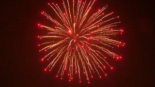 Запускаем фестивальный шар 6 inch (6 inch festival ball fireworks launch)
