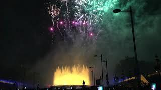 Барселона с Феерией тревел Керчь. Грандиозный фейерверк у Магического фонтана на фестивале La Merce