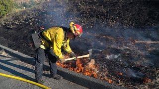 Fireworks Start A 2-Alarm Vegetation Fire In Antioch