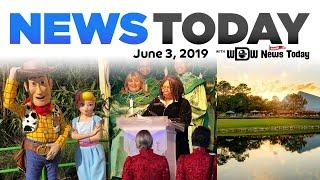 New Fireworks for Christmas Party, Bo Peep Meet & Greet, Rose Walk Path - News Today for 6/3/19