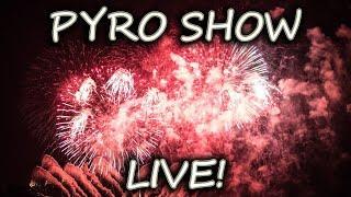WINTER BLAST LIVE! FIREWORKS PYRO SHOW LAKE HAVASU 2.17.19