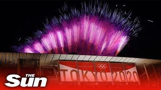 Fireworks bring climactic end to Tokyo Olympic Games