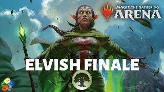 BETTER THAN FIREWORKS!! Elvish Finale Deck in MTG: Arena - Elf Tribal + Finale of Devastation Combo!