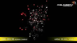 Римская свеча 1,5 8 выстрелов   B ROMAN CANDLE GWL 0013B