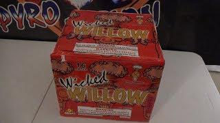 WICKED WILLOW  - 500G CAKE  - PYRO JUNKIE FIREWORKS