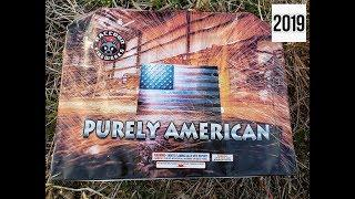 PURELY AMERICAN 135 SHOTS - RACCOON FIREWORKS