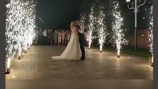 ШИКАРНАЯ дорожка из фонтанов на свадьбу