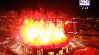 Amazing Fireworks PSL 4 Opening Ceremony | Part 4