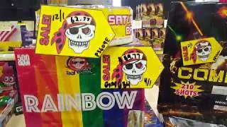 2019 Black Jack fireworks wholesale specials April