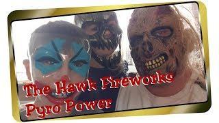 The Hawk Fireworks & Pyros - Pyro Power I FrenchCore I Tanz I The Hawk Fireworks