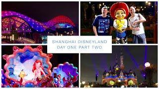 Shanghai Disneyland Vlog - April 2019 - Day 1 - Pt 2 - Tron, Fireworks & Amazing Crystal Grotto!