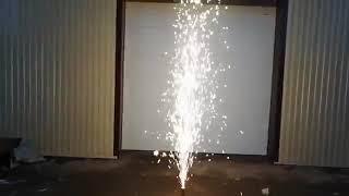 ФС002 Фонтан пиротехнический 4м 50 сек серебряного горения