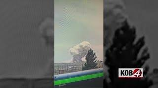 Video shows explosion at fireworks facility in Chaves County
