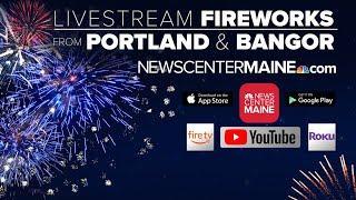 Bangor, Maine Fireworks Livestream