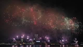 2018 China National Day Fireworks Hong Kong part 2