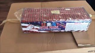 300 Shot USA Star Wars Defense System By Boomin Bulldog Fireworks