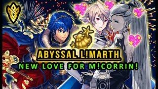 Fire Emblem Heroes - Abyssal L!Marth Clear With FireWorks & New Love for M!Corrin