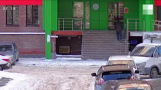 Тюмень: взрыв петарды на Депутатской #shorts