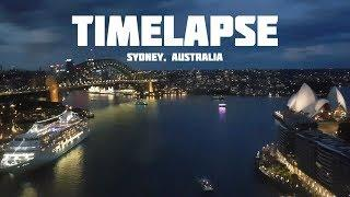 Sydney Harbour Timelapse | Ferries, Cruise Ships, Thunderstorms, Sunset, Fireworks