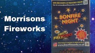 Morrison fireworks leaflet