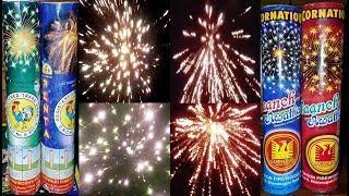 Cock Brand Penta Sky Flash vs Cornation Paanch Awatar - Diwali Fireworks Testing