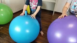 Big balloon show for kids   Deflation Big Balloons