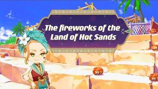 [Twisted Wonderland] ツイステ Fireworks of the Lands of Hot Sand Event Story Part 5