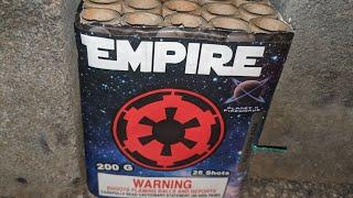 2️⃣5️⃣shot 200gram: EMPIRE (Planet X Fireworks)