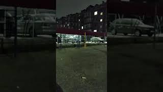 Ракета полетел в окно и взорвался