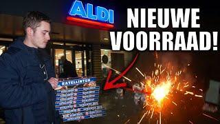 ALDI HEEFT DE SCHAPPEN WEER VOL LIGGEN MET VUURWERK!   SHOPPEN EN AFSTEKEN!