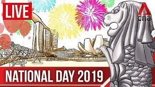 [LIVE HD] NDP 2019: Singapore's bicentennial National Day Parade | English audio