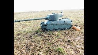 Танк M6A2E1 ЖАРИМ ГУСЯ ИЗ ПЛАСТИЛИНА