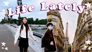 Life Lately ✨ Leaving Paris, Studying Abroad, Fireworks & Friends | My Life in Paris, France VLOG