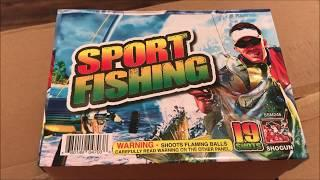 Sport Fishing By Shogun Fireworks