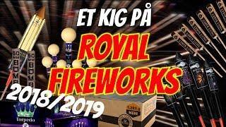 Fyrværkeri - Royal Fireworks 2018/2019