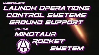 Launch Operations, Control Systems and Ground Support with the Minotaur Rocket System
