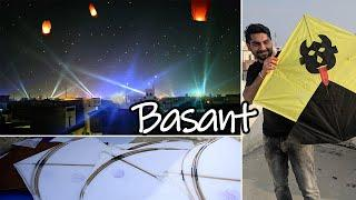 Ferozepur Basant Celebrations 2020 | Vlog | Fireworks | Kites | Chandol | Lanterns