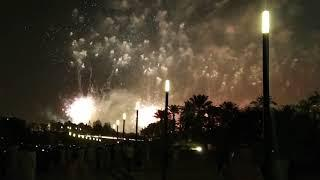 Amazing show of #fireworks on the event of Saudi National Day Riyadh Dariya 2018