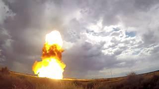 Впечатляющие кадры: Минобороны показало пуск новой ракеты системы ПРО