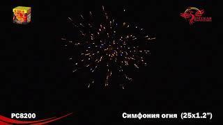 Батарея салютов Симфония огня 1,2х25