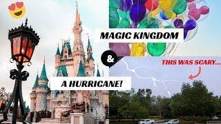 VLOG || MAGIC KINGDOM, A HURRICANE AND THE BEST FIREWORKS DISPLAY