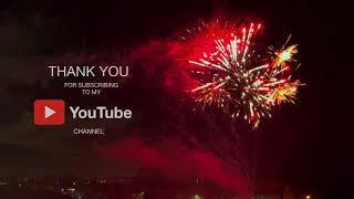 Fireworks 4k HDR10+ dolby vision | celebrating 300 subscribers