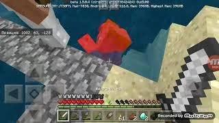 9 серия выживание в Minecraft на телефоне обустраиваем ферму