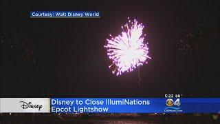 Illuminations Fireworks Show Closing At Epcot
