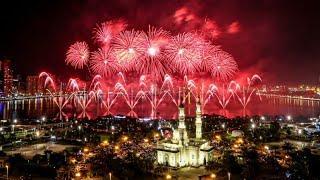 2020 Fireworks At Sharjah Al Majaz by #msajjad