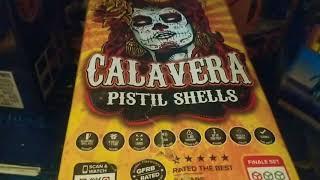 """1.75"""" Ball Shell x4️⃣: CALAVERA (Red Apple Fireworks) Pistil Effect"""