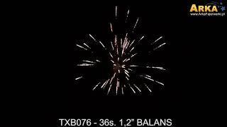 "Balans TXB076   36 shots 1 2"""