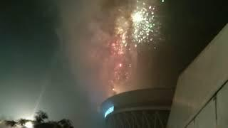 Philippine arena new years countdown fireworks display bucaue bulacan video 2
