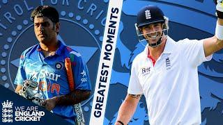Dhoni Fireworks and Pietersen At His Best! | England v India Greatest Moments - Part 3